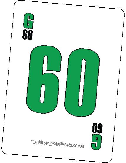 Bingo Card G60