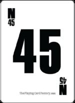 Bingo Card N45
