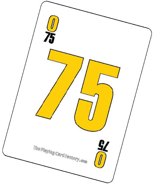Bingo Card O75