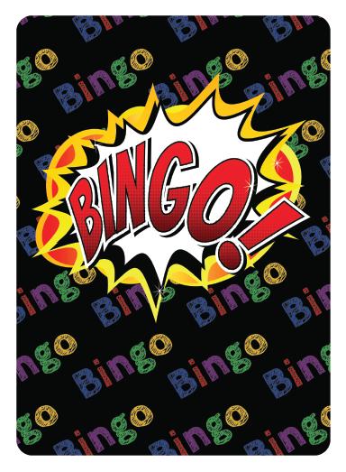 Bingo Calling Card