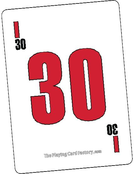 Bingo Card I30